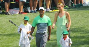 Tiger Woods rehab figli