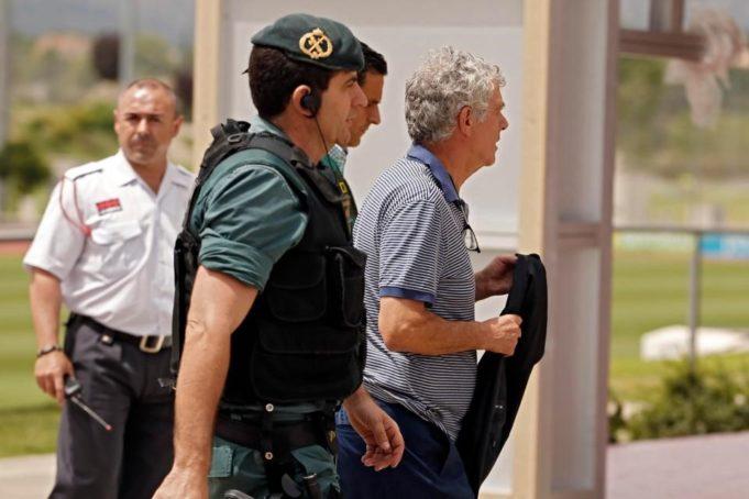 Presidente federcalcio spagnola manette corruzione