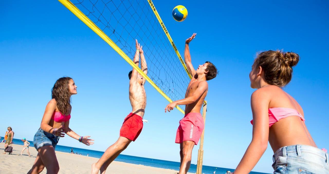 Beach volley estate