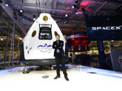 Viaggio Spazio Space X Dragon