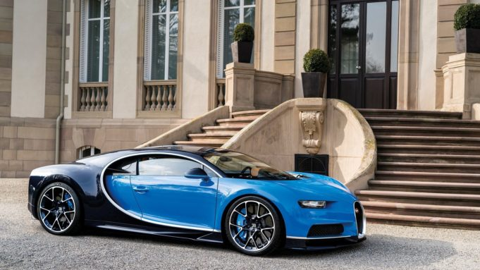 Bugatti Chiron veloce