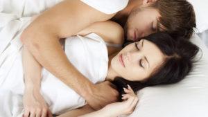 Azione seducente sonno
