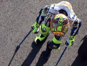 Valentino Rossi Yamaha recupero