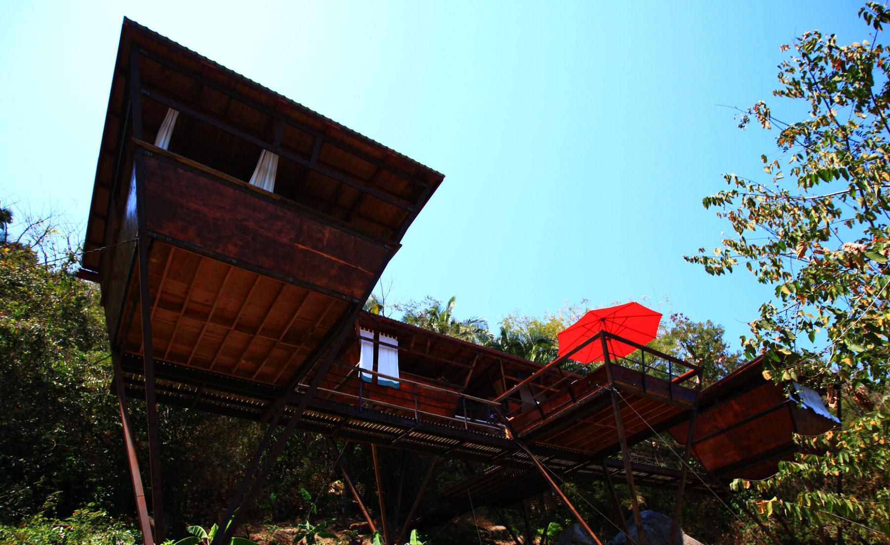 V-House casa albero