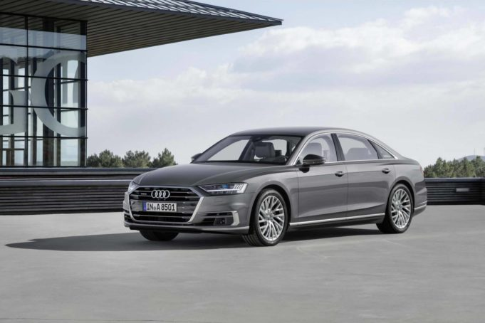 Audi A8 luxury car