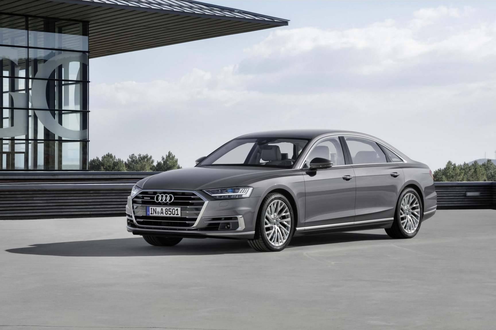 Audi A8 luxury car