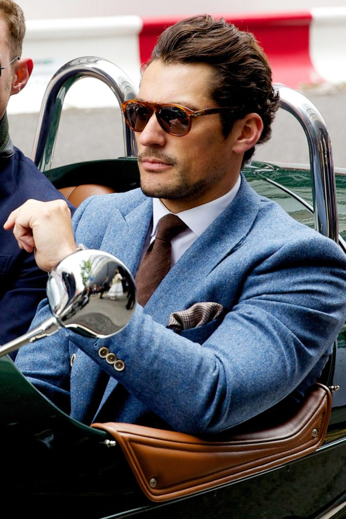 David Gandy stile dandy