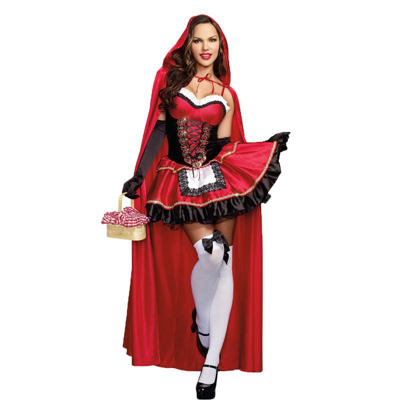 costumi halloween sexy cappuccetto rosso