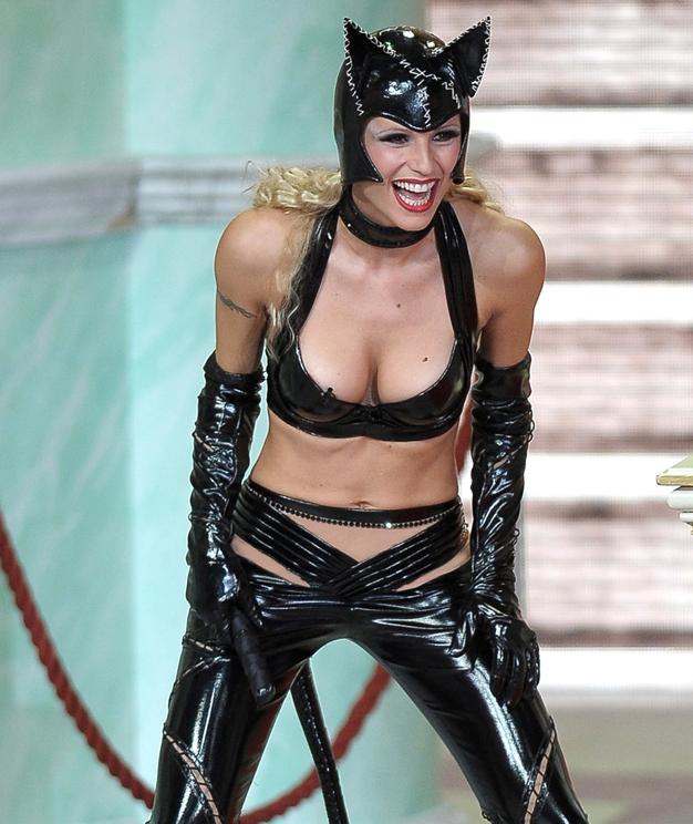 Michelle Hunzicker halloween Catwoman