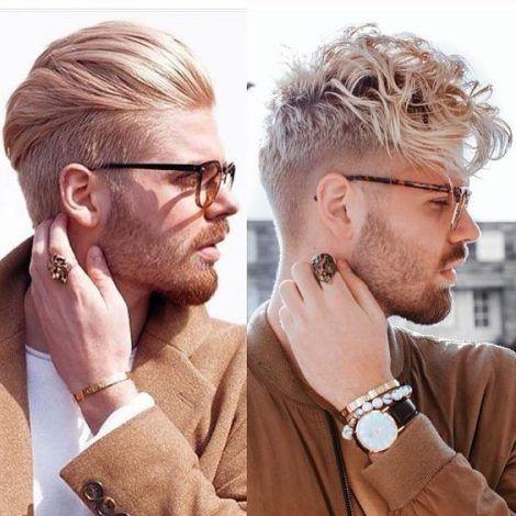 moda uomo capelli barba 2018