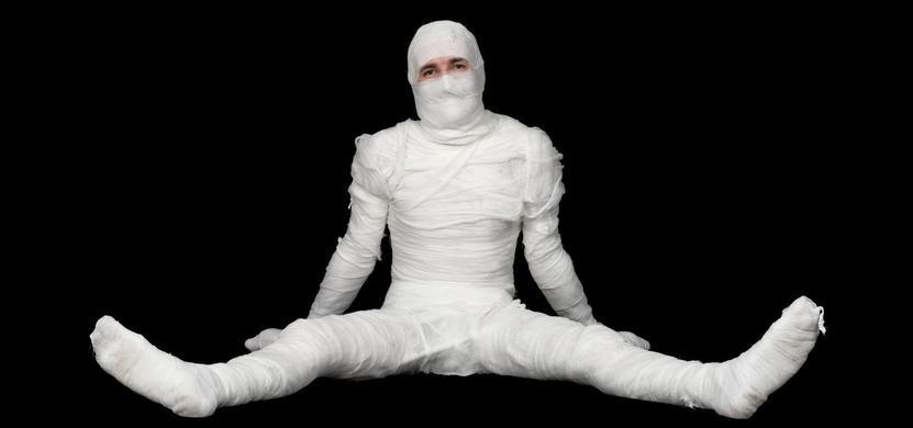 costumi halloween mummia
