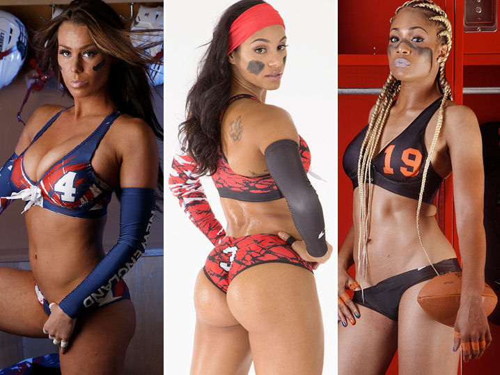 lingerie football league hot