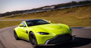 Aston Martin Vantage 2018 velocità