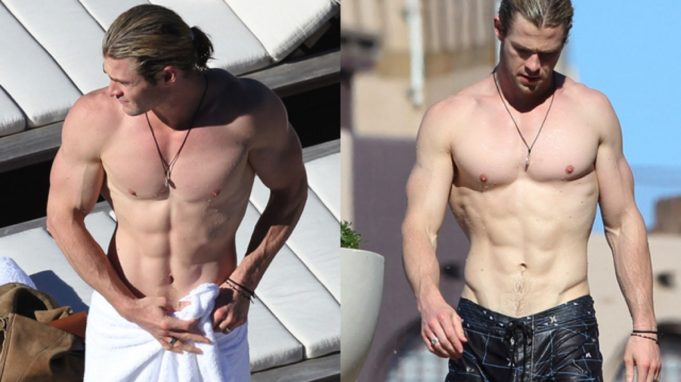chris hemsworth allenamento thor