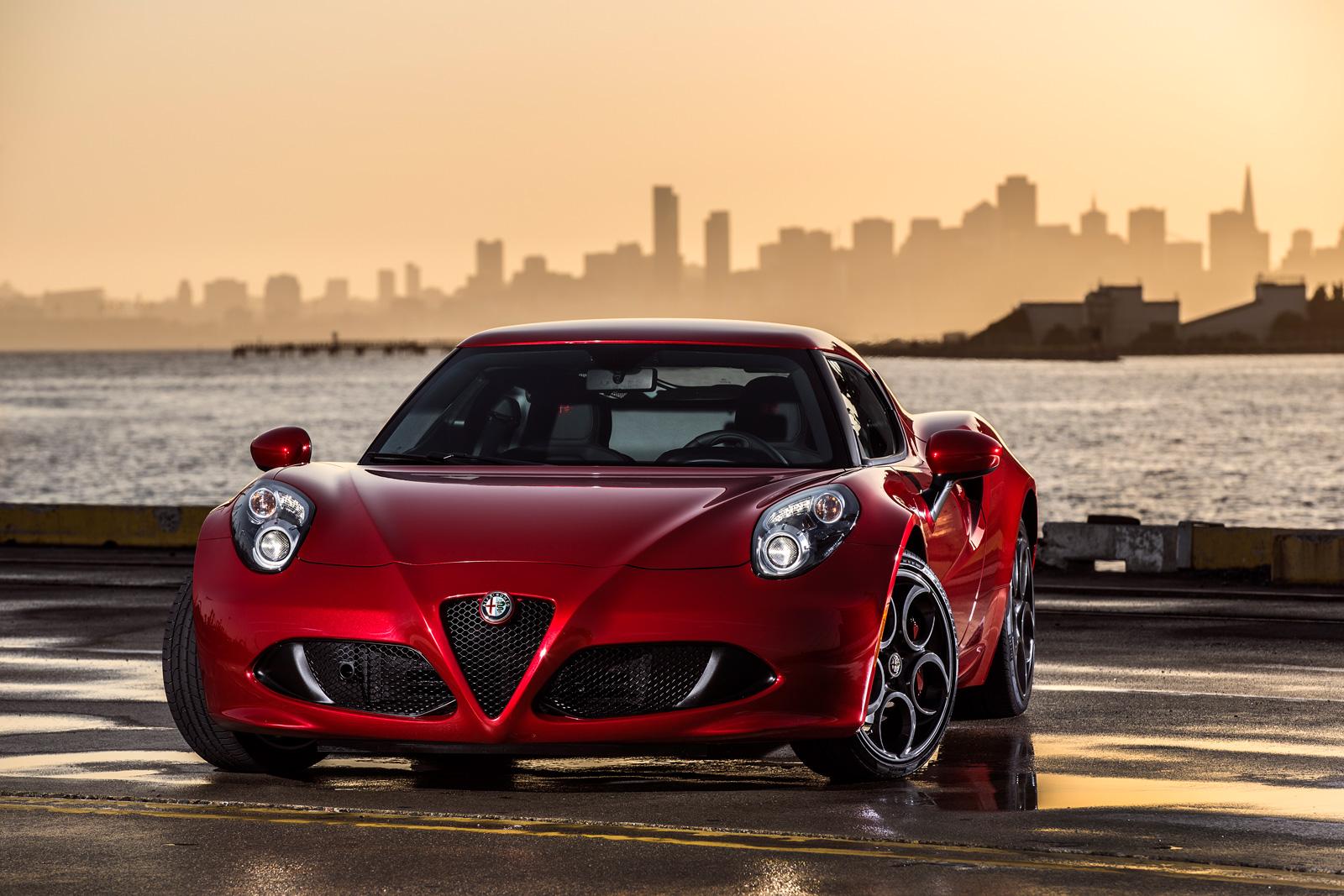Alfa Romeo 4C 2018
