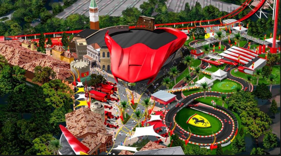 Ferrari Land attrazioni