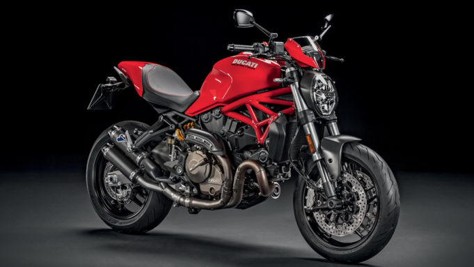 Ducati Monster 821 anniversario