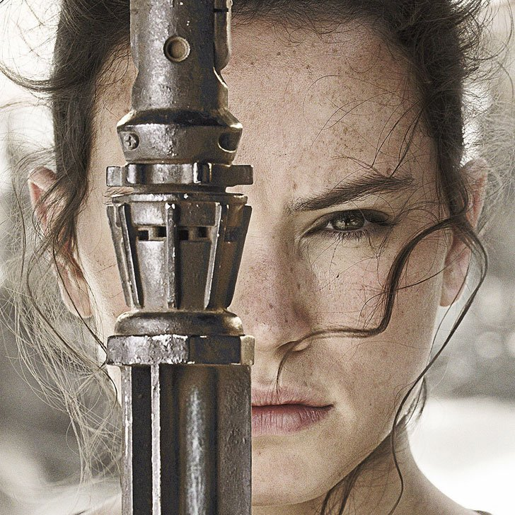 attrice rey star wars