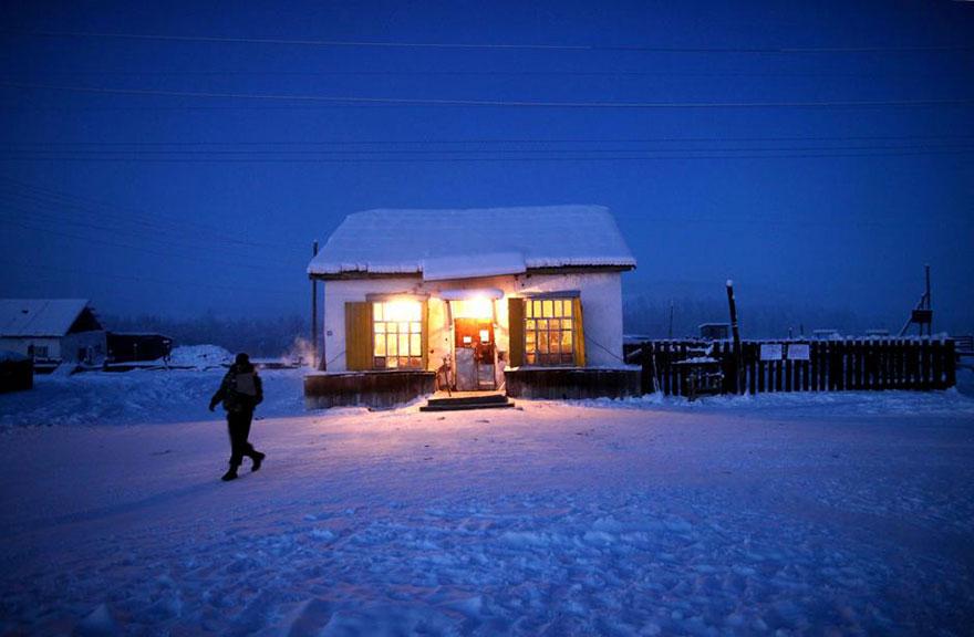 Oymyakon posto più freddo del mondo