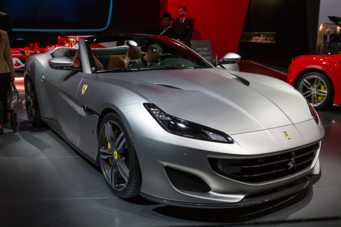 Ferrari argento Bologna