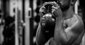 Kettlebell training workout