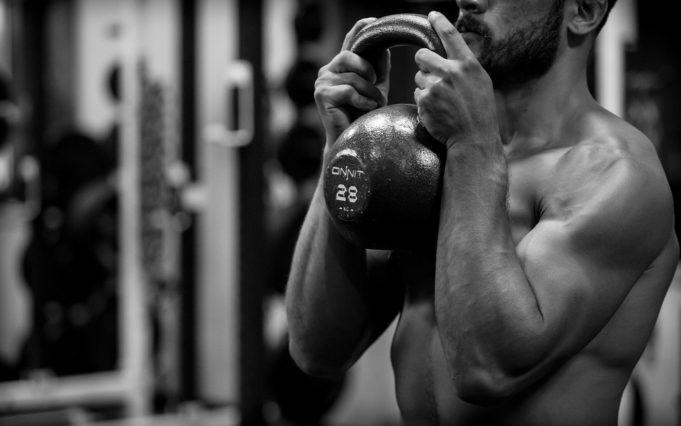 Kettlebell training workout