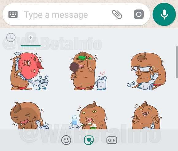 whatsapp nuovi Stickers