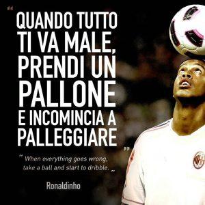 Ronaldinho frasi