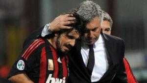 Gattuso ancelotti milan