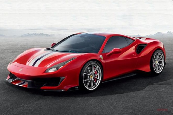 Ferrari 488 caratteristiche