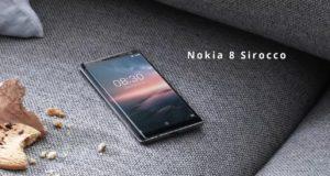 Nokia 8 Sirocco scheda tecnica