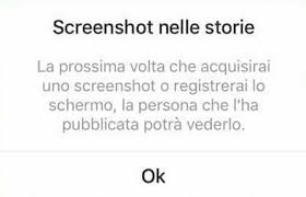 Screenshot storie