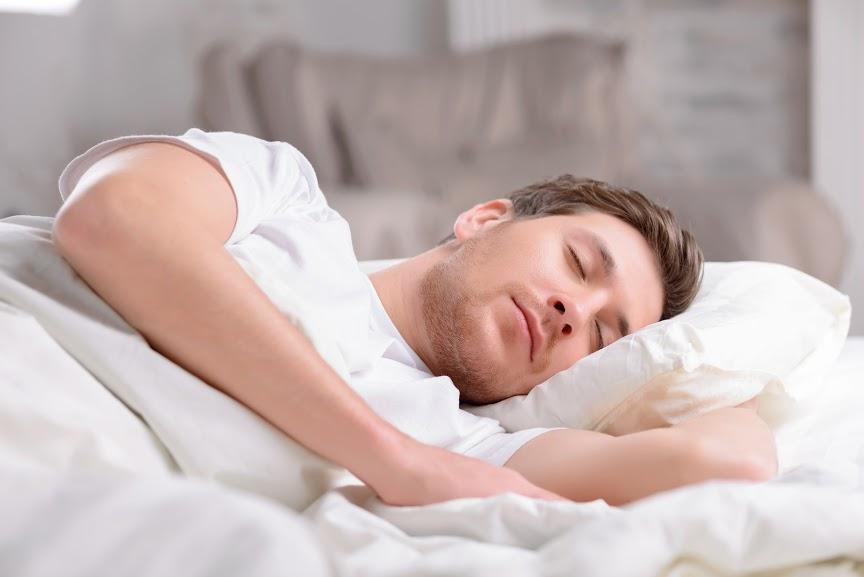 uomo sveglia