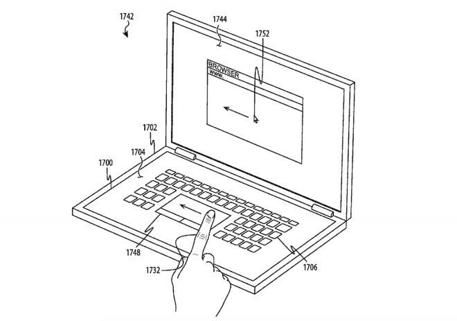 Apple tastiera touch
