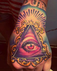 Tatuaggi mani idee