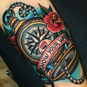 tatuaggi colorati idee