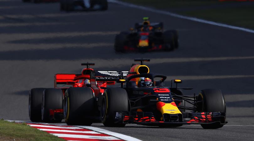 Ricciardo Verstappen Cina 1