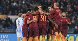 squadra roma rialzo