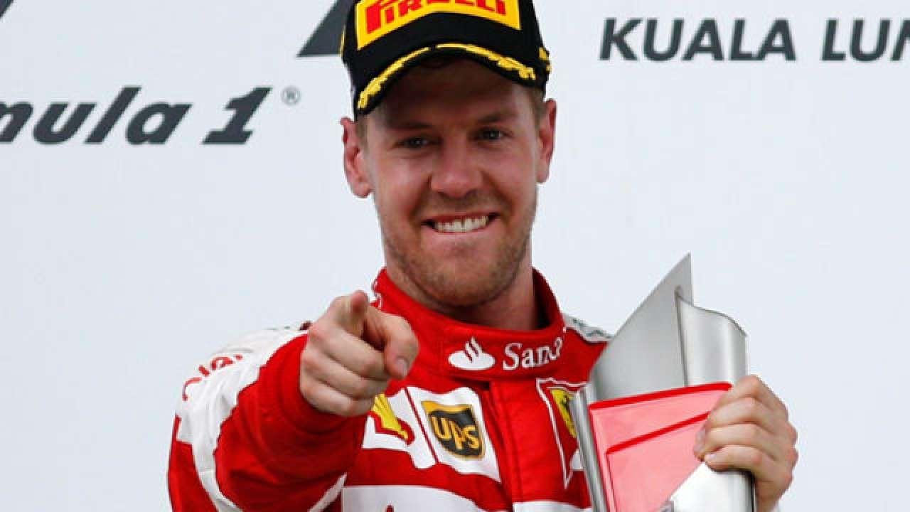 Shanghai Vettel Raikkonen