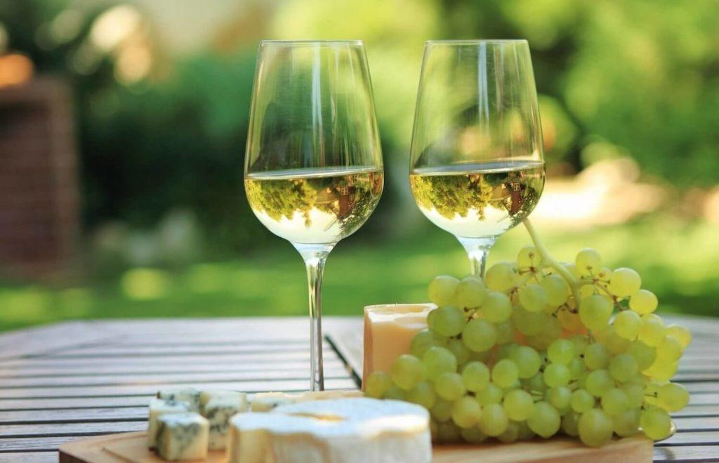 bicchiere vino bianco