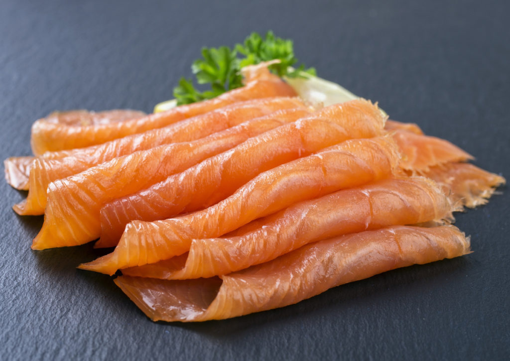 salmone massa muscolare