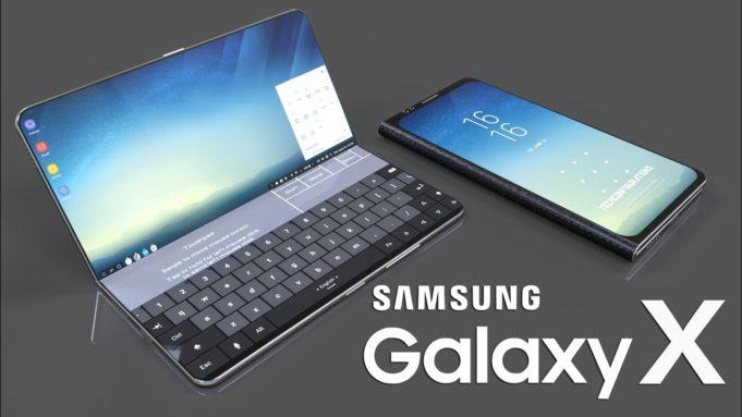 schermo pieghevole Samsung