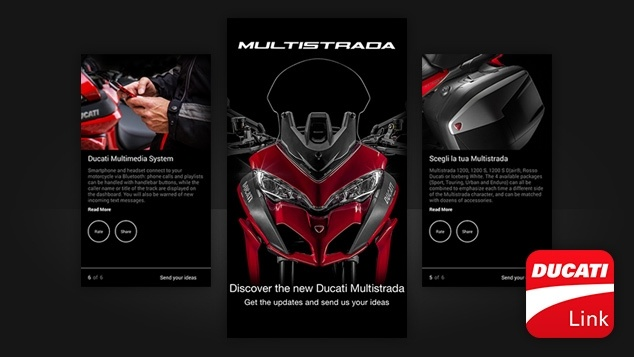 app ducati multistrada