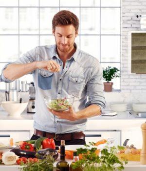 uomo cuoco ricette