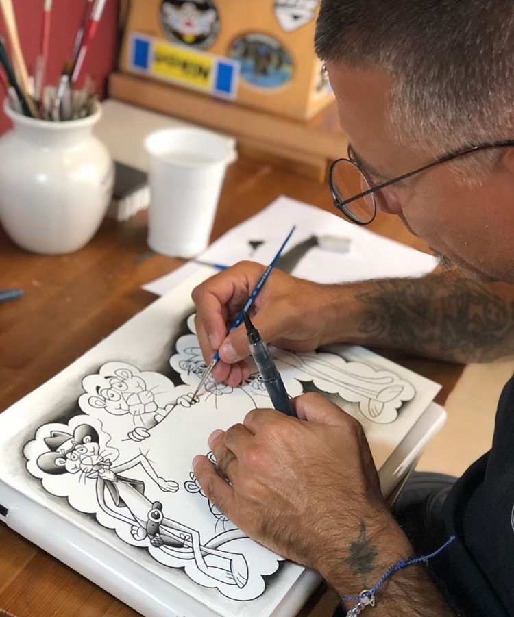 Giuseppe Zazzera tatuatore