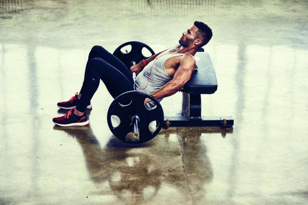 hip thrust esercizio