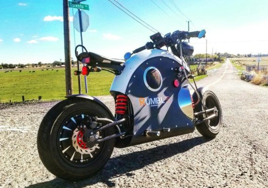 moto elettrica rumble