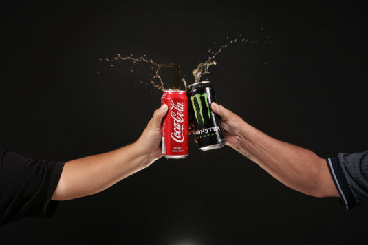 monster coca cola accordo