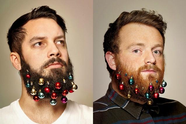 decorazioni barba natale