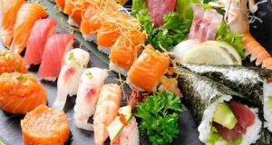 Riconoscere sushi fresco